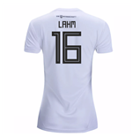 2018-19 Germany Home Womens Shirt (Lahm 16)