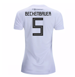 2018-19 Germany Home Womens Shirt (Beckenbauer 5)