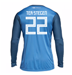 2018-19 Germany Home Goalkeeper Shirt (Ter Stegen 22)