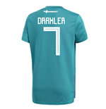 2018-19 Germany Away Training Shirt (Draxler 7)
