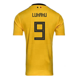 2018-2019 Belgium Away Adidas Football Shirt (Lukaku 9) - Kids