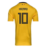 2018-2019 Belgium Away Adidas Football Shirt (Hazard 10) - Kids