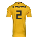 2018-2019 Belgium Away Adidas Football Shirt (Alderweireld 2)