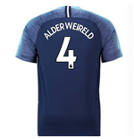 2018-2019 Tottenham Away Nike Football Shirt (Alderweireld 4)