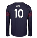 2018-2019 Arsenal Puma Away Long Sleeve Shirt (Ozil 10) - Kids
