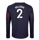 2018-2019 Arsenal Puma Away Long Sleeve Shirt (Bellerin 2) - Kids