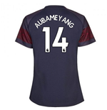 2018-2019 Arsenal Puma Away Ladies Shirt (Aubameyang 14)
