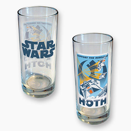 STAR WARS Hoth 15 Ounce Drinking Glass