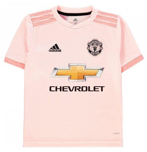 bc6934f21 Buy Official 2018-2019 Man Utd Adidas Away Football Shirt (Kids)