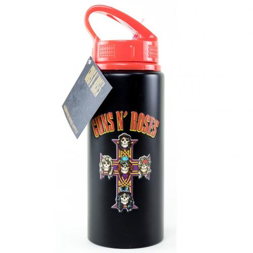 Guns N Roses Aluminium Drinks Bottle