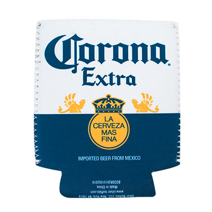 CORONA EXTRA Beer Bottle Label Can Cooler