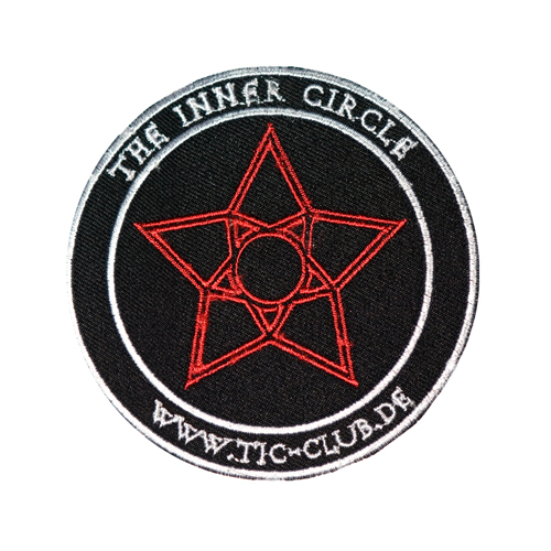 Mode Wichtig Patch TIC The Inner Circle Aufnäher 10cm