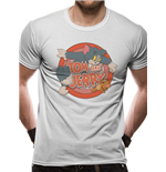 Tom & Jerry T-Shirt Retro Logo