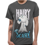Smallfoot - Hairy Not Scary - Unisex T-shirt Grey