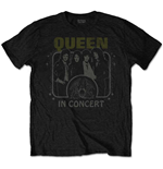 Queen Men's Tee: In Concert