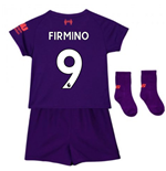 2018-2019 Liverpool Away Baby Kit (Firmino 9)