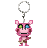 Five Nights at Freddy's Pizzeria Simulator Pocket POP! Vinyl Keychain Pigpatch 4 cm