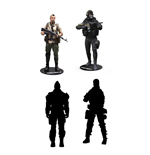 Call of Duty Action Figures 18 cm Assortment (8)