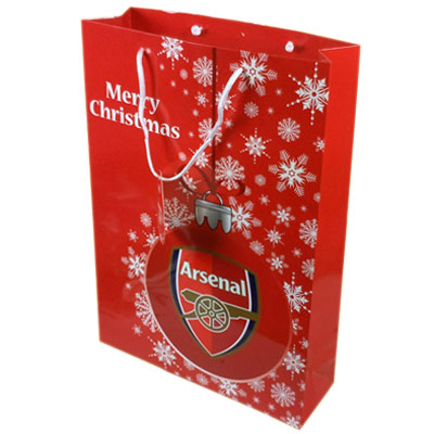 Arsenal F.C. Christmas Gift Bag Medium