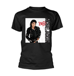 Michael Jackson T-shirt Bad Black
