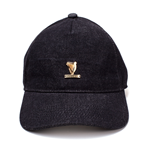 Guinness - Washed Denim Metal Badge Dad Cap