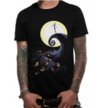 Nightmare Before Christmas - Many Faces Of Jack - Unisex T-shirt Grey