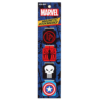 Marvel Comics Magnetic Bookmarks