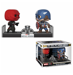 Marvel POP! Movie Moments Vinyl Bobble-Head 2-Pack Captain America & Red Skull 9 cm