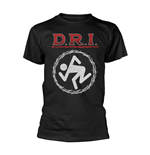 D.R.I. T-shirt Barbed Wire
