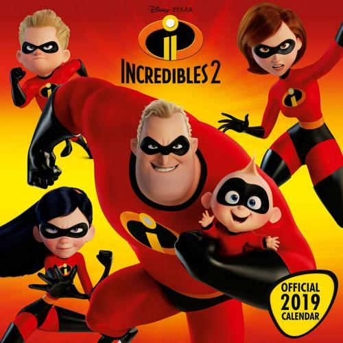 The Incredibles 2 Calendar 2019