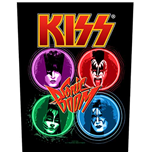 KISS Back Patch: Sonic Boom