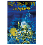 Iron Maiden Textile Poster: Live After Death