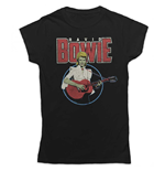 David Bowie Ladies Tee: Acoustic Bootleg