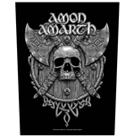 Amon Amarth Back Patch: Skull & Axes