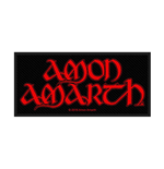 Amon Amarth Standard Patch: Logo (Loose)