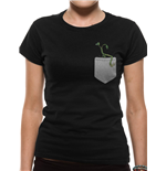 Crimes Of Grindelwald - Pickett In My Pocket - Women Fitted T-shirt Black