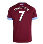 2018-2019 West Ham Home Football Shirt (Arnautovic 7)