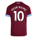 2018-2019 West Ham Home Football Shirt (Your Name)