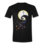 Nightmare before Christmas T-Shirt Cemetery Moon