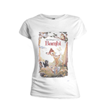 Bambi Ladies T-Shirt Retro Poster