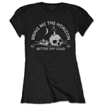 Bring Me The Horizon Ladies Tee: Happy Song