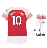 2018-2019 Arsenal Home Little Boys Mini Kit (Your Name)