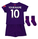 2018-2019 Liverpool Away Baby Kit (Your Name)