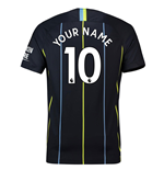 2018-2019 Man City Away Nike Football Shirt (Your Name)
