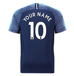 2018-2019 Tottenham Away Nike Football Shirt (Your Name)