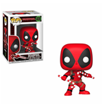 Marvel Comics POP! Marvel Holiday Vinyl Bobble-Head Deadpool (Candy Canes) 9 cm