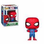 Marvel Comics POP! Marvel Holiday Vinyl Bobble-Head Spider-Man (Ugly Sweater) 9 cm