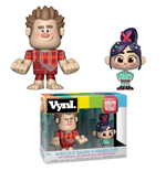 Wreck-It Ralph 2 Vinyl Figures 2-Pack Wreck-It Ralph & Vanellope 10 cm