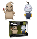 Nightmare Before Christmas VYNL Vinyl Figures 2-Pack Oogie Boogie & Behemoth 10 cm