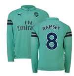 2018-2019 Arsenal Puma Third Long Sleeve Shirt (Ramsey 8)
